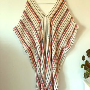 HANDMADE GORGEOUS MEXICAN PONCHO!!!